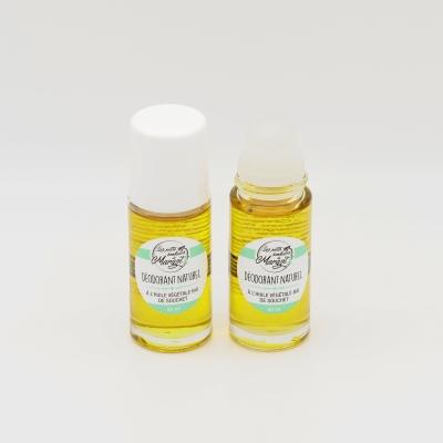 Déodorant naturel à bille